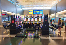 Terminal de aeroporto de Las Vegas Foto de Stock Royalty Free