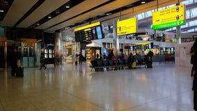 Terminal de aeropuerto almacen de video