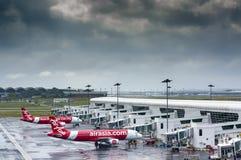Terminal de AirAsia Foto de Stock Royalty Free