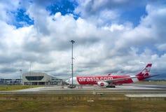 Terminal de AirAsia Imagem de Stock