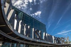 Terminal de bac d'île de Staten Photos stock