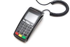 Terminal de carte de crédit Image stock