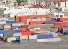 Terminal de contenedores Imagenes de archivo
