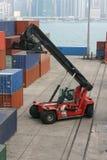 Terminal de conteneur Images stock