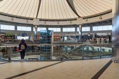Terminal de départ à l'aéroport international d'Antalya, Antalya Havalimani La Turquie Photos libres de droits