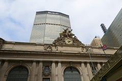 Terminal de Grand Central et bâtiment de MetLife, nouvelle ville de Yor Photographie stock libre de droits