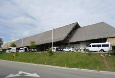 Terminal 2 in de Internationale Luchthaven van Punta Cana, Dominicaanse Republiek Royalty-vrije Stock Foto's