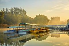 Terminal de la travesía, Pekín Forest Park olímpico Fotos de archivo libres de regalías