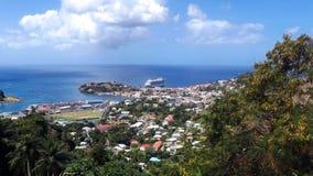 Terminal 2013 de la travesía de Tortola fotografía de archivo