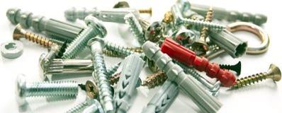 Terminal de marcado manual de varios tornillos roscados Imagen de archivo