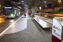 Terminal de ônibus Imagem de Stock Royalty Free