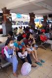 Terminal de ônibus Fotos de Stock
