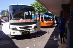 Terminal de ônibus Imagens de Stock