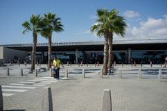 Terminal de Pafos Photo libre de droits