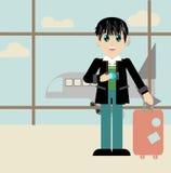Terminal de passageiro ilustração stock