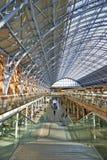 Terminal de station de Saint-Pancras Image stock