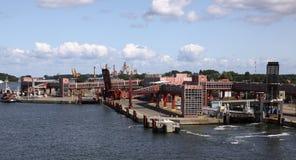 Terminal de transbordadores Imagen de archivo