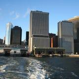 Terminal de transbordadores de la isla de Staten Fotografía de archivo libre de regalías