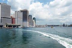 Terminal de transbordadores de la isla del gobernador Foto de archivo libre de regalías