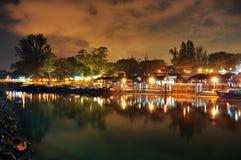 Terminal de transbordadores en la aldea de Changi Fotos de archivo libres de regalías