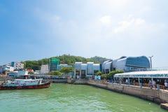 Terminal de transbordadores en Vungtau, Vietnam Fotografía de archivo