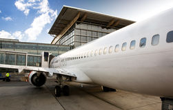 Terminal del aeroplano imagenes de archivo