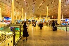 Terminal 3 del aeropuerto internacional capital de Pekín Fotografía de archivo libre de regalías