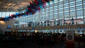 Terminal del barco de cruceros en Miami, la Florida fotos de archivo libres de regalías