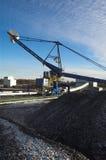 Terminal del carbón Fotografía de archivo