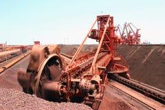 Terminal del mineral de hierro del acceso de Qingdao Fotografía de archivo