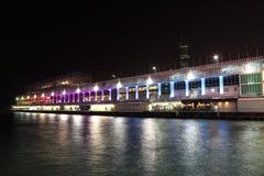 Terminal do cruzeiro em Hong Kong fotos de stock
