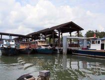 Terminal du ferry de Changi Photographie stock
