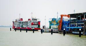 Terminal du ferry de Penang image libre de droits
