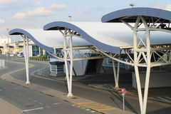 Terminal en Calais Fotos de archivo libres de regalías