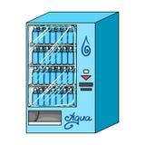 Terminal en vente d'eau en bouteille Les terminaux choisissent l'icône en stock isométrique de symbole de vecteur de style de ban Photos libres de droits