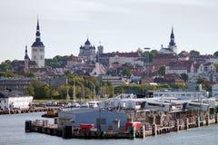 terminal för gammal port för stad Royaltyfri Foto