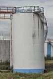 Terminal för gaslagring Royaltyfria Bilder