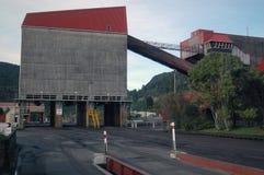 Terminal ferroviario imagen de archivo