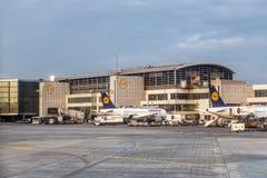 Terminal 1 Frankfurt International Airport Stock Image