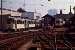 Terminal Grounds of Postlingbergbahn-Linz, Austria Stock Image