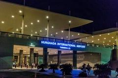 Terminal Hurgada för internationell flygplats 1 royaltyfri foto