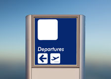 Terminal indication Royalty Free Stock Photo