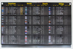 Terminal Info Board - 13 Stock Photography