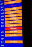 Terminal Info Board - 20 Stock Image