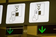 Terminal Info Board - 16 Stock Image