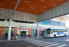 Terminal internacional del aeropuerto de Ranh de la leva, Vietnam Foto de archivo libre de regalías
