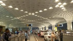 Terminal 2 international airport Mumbai royalty free stock photography
