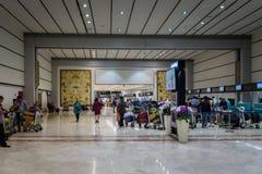 Terminal Jakarta Soekarno-Hatta för internationell flygplats 2 Royaltyfri Foto