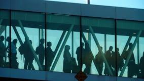 Terminal jetway do aeroporto filme