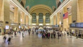 Terminal 4K de Grand Central almacen de metraje de vídeo